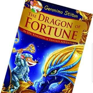 WTB- Geronimo Stilton- The Dragon of Fortune