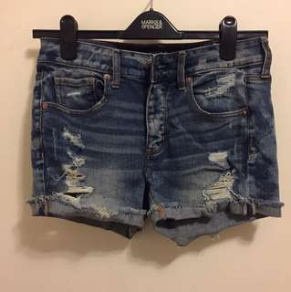 AE (American Eagle Outfitters) denim high waisted shorts