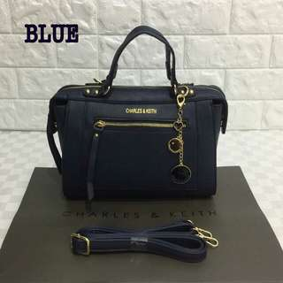 Charles & Keith Bag Blue Color