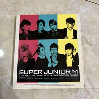 Super Junior M - Perfection Album WITH REAL AUTOGRAPH OF EACH MEMBER
