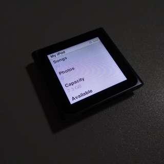 Apple Ipod Nano 6th Gen 8gb Grey