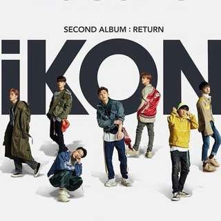 Ikon 2nd Album Return