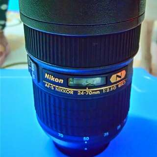 Nikon official 24-70mm Lens Not lens Thermos