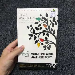 Purpose Driven Life Book