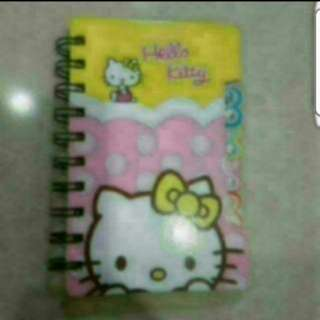 In stock Hello Kitty Notebook With Divider