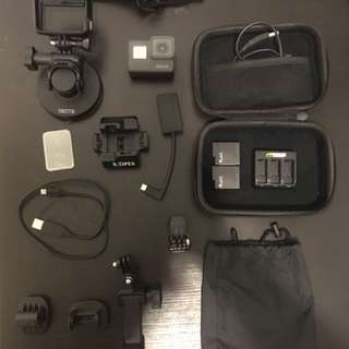 GoPro Hero 5 + accesories for sale
