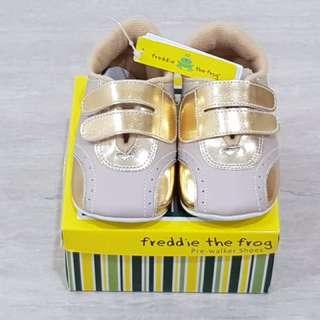 Baby Prewalker Shoes - Freddie The Frog (NEW)