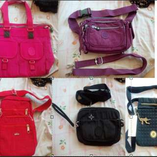 Kipling Bag and Pouch