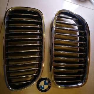 BMW F10 kidney grill + logo