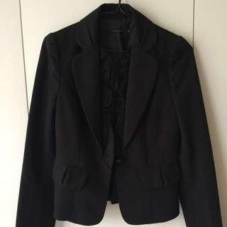 Theme黑色西裝外套