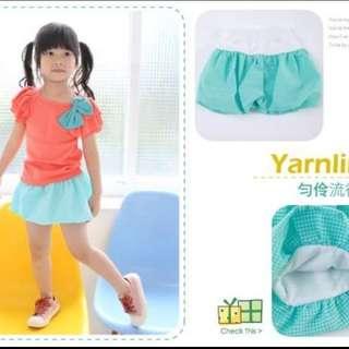 Short size 5 (good for age 3-4 yo)