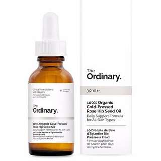 [Authentic] The Ordinary 100% Organic Cold-Pressed Rose Hip Seed Oil