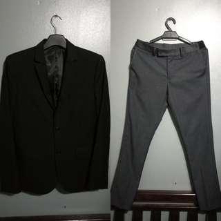 [Reduce] H&M Suit Blazer & BO Slacks