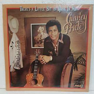 Charley Pride - There's A Little Bit Of Hank In Me Vinyl Record