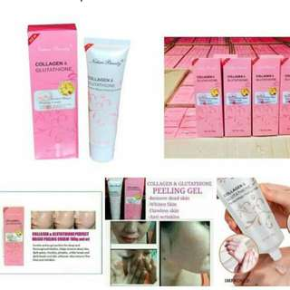 peeling gel gluta collagen