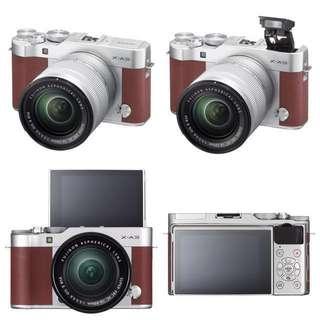 REPRICED‼️Fujifilm X-A3 Brown Maroon Mirrorless Camera