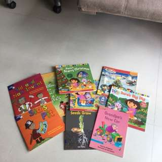 Kids Story Books (a box of books)