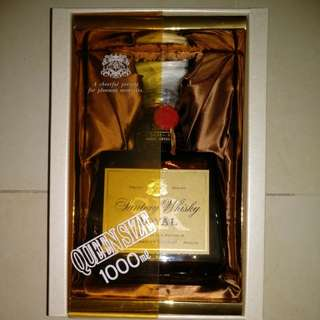 SUNTORY LIMITED ROYAL QUEEN SIZE