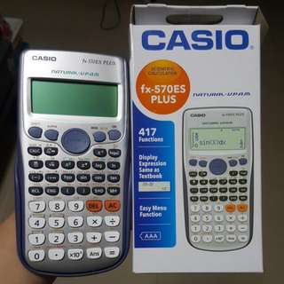 Casio Calculator : Fx-570ES PLUS
