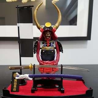 Samurai Set - display set