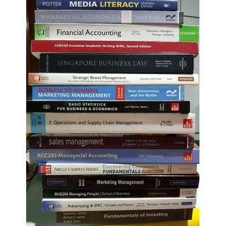 UniSIM Textbooks