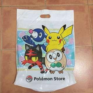 Pokemon Pikachu Plastic Bag 寵物小精靈比卡超高質膠袋
