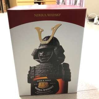 Nikka Gold And Gold 武士頭