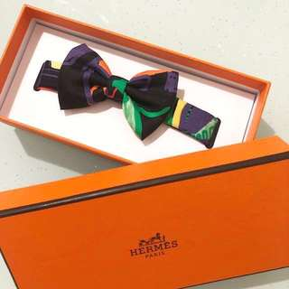 💝情人節 禮物 valentines day 💝hermes bow tie new black 黑色 領呔 twilly 全新