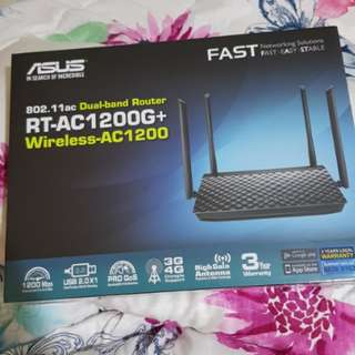 Asus Dual Band Router RT-AC1200G+ Wireless-AC1200