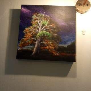 Oil painting art work