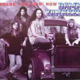 arthcd DAMN YANKEES Where You Going Now CD Single (includes live versions of High Enough and Where You Going Now)