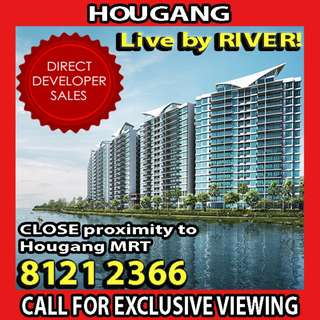 🌟Live by River, Best RARE view, TOP very soon, NEW Condo at Hougang!🌟