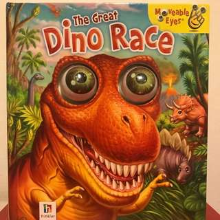 The Great Dino Race with moveable eyes!