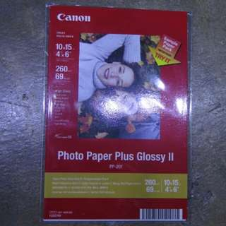 Canon Photo Paper Plus Glossy II, 4R extra (5pcs)