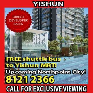 🌟READY TO MOVE IN YISHUN EC, FREE 1 YEAR SHUTTLE SERVICES TO YISHUN MRT STATION!🌟