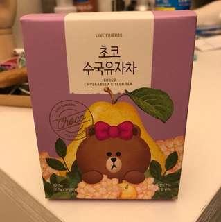 韓國Line Friend 柚子茶