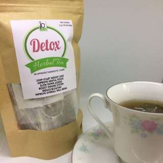 Weight Loss Detox Tea