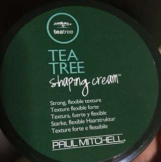 PAUL MITCHELL TEA TREE SHAPING HAIR CREAM