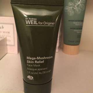 Origins mega mushroom skin relief mask