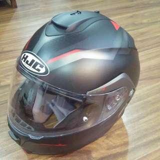 Hjc Helmet    Never Used Before For Riding