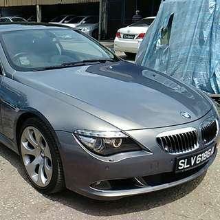 BMW 650i LCI gear SG