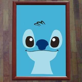 Lilo and Stitch Wall Art