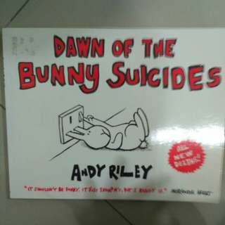 dawn of the bunny suicides (andy riley)