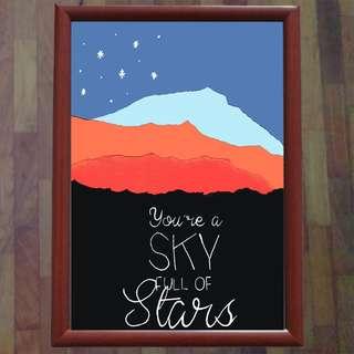 Coldplay Sky Full of Stars