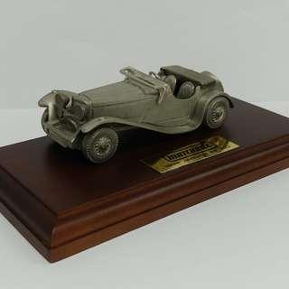 白金屬 Jaguar SS100 Matchbox