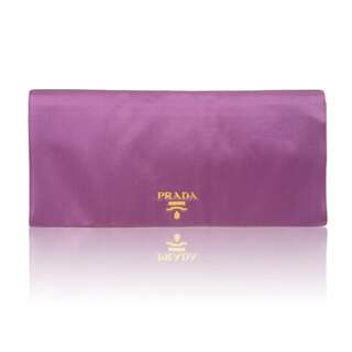 PRADA Raso Flap Clutch