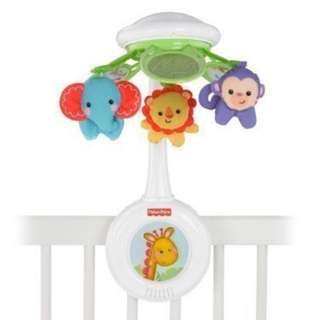 Fisher price rain forest mobile music