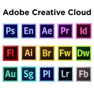 $15 | Adobe Creative cloud Apps 🕘*OFFER 💰2018