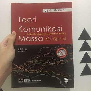 Teori Komunikasi Massa 2