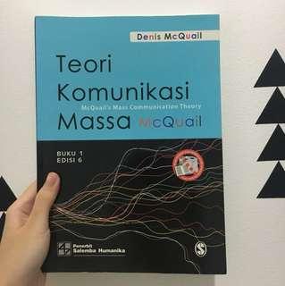 Teori Komunikasi Massa 1